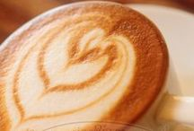 Coffee with Love / Coffee serve with Love and Latte Art