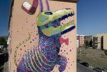 creatures / street art / Street Artists create creatures
