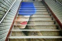 stairs | street art