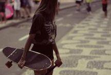Girl  ♧ SWAG ♧ Skate