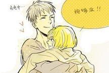 SnK ♧ Jean & Armin