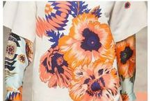 • FLORAL LARGE SCALE • / Oversized Florals - Scaled Patterns - Over-scaled Blooms