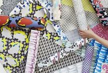 • PRINT MIX • / Clashing Prints - Bold Pattern Plays - Combination Prints - Floral/Geometric Mixes - Scale Variations
