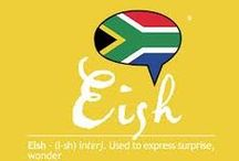 South African lingo