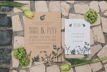 Urban Botanicals / Urban botanicals inspired bridal shoot. Stationery by Russet & Gray, floristry by Gwenda Jeffs, photography by Shell de Mar and featured on B.LOVED Wedding Blog.