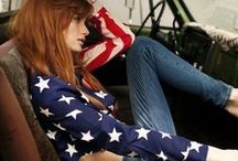 Americana | July 4th, Patriotic, Red-White-Blue / Pledge your allegiance to patriotic style. Red, white, & blue fashion finds!