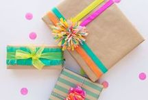 Gift Wrapping Ideas. / Pretty Packages,