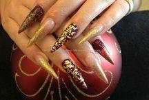Nicola Senior - My Lovely Nail Art - Eye Candy Salon pictures / My Nail Art - Nail Art pictures taken in salon @ www.eyecandynails.co.uk