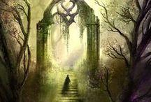 portals, doorways, stairways, windows / by Jennifer DeFillippo