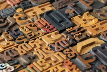 movable type / celebrating beauty - one letter at a time!