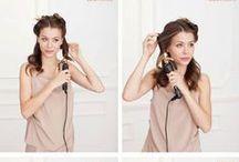 Plaukai: pasidaryk šukuoseną pati / Paprastos ir nesudėtingos pamokėlės, kaip pasidaryti šukuoseną pačiai, užtrunkant vos keletą minučių :)