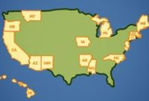 Our Host Organizations / Check out FoodCorps' partners in each of our program states!