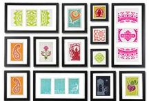 frames for all spaces! / a collection of thoughtful, stunning, and creative frame arrangements!