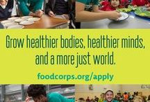 Get Involved / Get involved in farm to school and with FoodCorps.