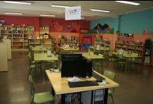 Nuestra biblioteca escolar / Imágenes de la BE del CEIP VIRREY MORCILLO