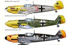 ilustrações de aviões