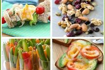 Quick, Healthy Snacks / Healthy, easy, and quick snack/meal ideas for men and women on the go.