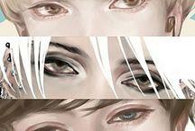 Art ref. eyes/face