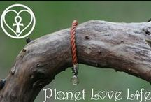 Classic Bracelet Collection : Planet Love Life / Nautical bracelets hand crafted from salvaged marine debris found on the beaches of the Bahamas.