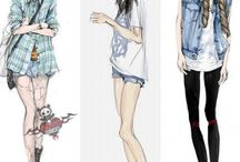 Clothes ref. modern
