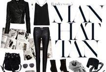 Polyvore / Fashion design graphic