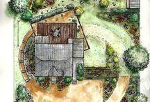 Arch / Garden  - Plan