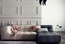 Muted Neutral Pallettes / Interior design decor colour color neutral neutrals colours colors moted tones
