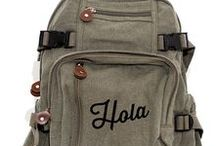 Backpacks / carry your gear in style.