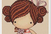 Keresztszemes/  cross stitch