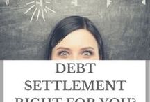 Debt Settlement / Debt settlement is a process of negotiating with one or more creditors to reduce the balances owed by debtors. Also known as debt resolution, the process can benefit all parties, although the scales are tipped on the side of the person who owes money.***If you would like to be added to the Group Board. Please follow me and email josh (@) mycreditunions.org***