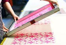 Screen Print / #screenprinting #silkscreen #sablon