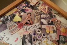 Cutting and Pasting / Old school Pinterest!