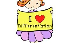 DIFFERENTIATED INSTRUCTION / Ideas and resources for differentiation