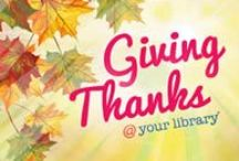 Giving Thanks / by Virginia Beach Public Library
