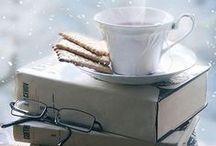 books and tea..
