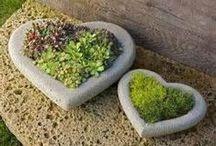 Stone Flower Planters