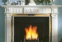 Natural Stone Fire Place