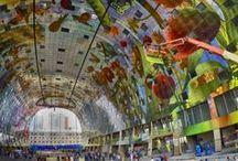 Rotterdam / The new market Hall