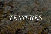 Textures / A closer look at the rugs that build beautiful homes.