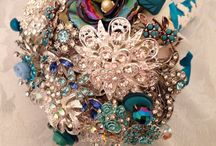 Brooch bouquets / Created with love