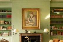 Finishing touches / Fireplace shelves