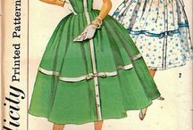 Vintage Patterns / Aiming to make....