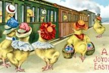 Easter Postcards / Images of postcards received by local residents over the years