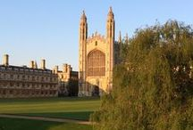 CAMBRIDGE / Where I get inspiration for many of my books. Not to be confused with Cambridge, Massachussetts, and certainly never with Oxford.