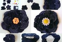 Recycled Textiles / Recyklované džínsy Recycled handmade products. Recycled jeans