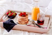 Breakfast / Breakfast in bed. Ooh Lord.. can I get a man to spoil me this much..