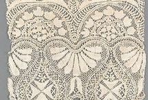 Maltese lace / Maltese lace is a style of bobbin lace made in Malta. It is a guipure style of lace. It is worked as a continuous width on a tall, thin, upright lace pillow. Bigger pieces are made of two or more parts sewn together.