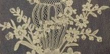 Honiton lace / Honiton lace is a type of bobbin lace made in Honiton, Devon. Historical Honiton lace designs focused on scrollwork and depictions of natural objects such as flowers and leaves.