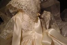 Lace - christening gowns