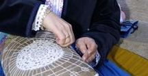 Bobbin lace - makers